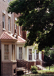 Brick Facades in Lefferts Manor Brooklyn