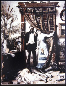 Idealized Parlor Scene 1869
