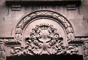 lefferts manor 1893-1993 limestone details