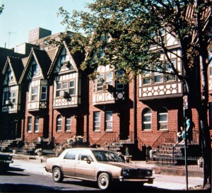 Neo-Tudor Rowhouses on Rutland Road - Lefferts Manor 1893-1993