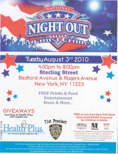 National Night Out 2010 in Prospect Lefferts Gardens