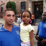 Community Affairs Officers Martinos and Fergus with Aydyn
