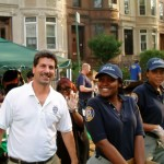 71st Precinct Officers having fun in PLG