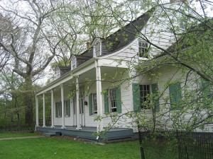 The Lefferts farmhouse in Prospect Park