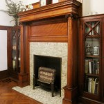 Gas Fireplace with Bookcases 2011 PLG House Tour