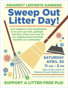 PLG Sweep Out Litter Day