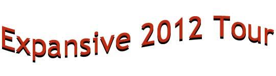 Expansive 2012 Tour