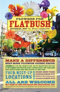 Flowers for Flatbush 2012