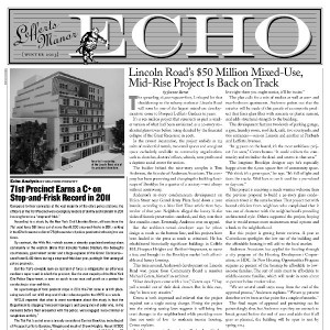 The Lefferts Manor Echo Winter 2013