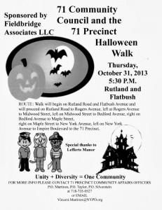 Halloween Safe Walk 2013