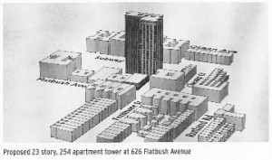 Proposed Tower on Flatbush and Fenimore