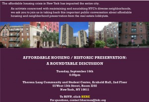 Affordable Housing Panel Sept 2014